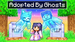 Adopted By GHOSTS In Minecraft!