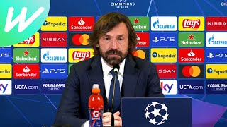 Juventus 3-2 FC Porto (4-4 agg)   Andrea Pirlo   Last 16   Champions League   2020/21   UCL Presser