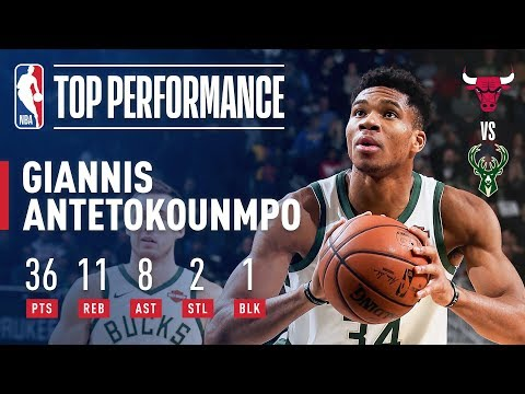Giannis Drops A Season High 36 Points! | November 28, 2018