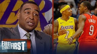 Cris Carter thinks Rajon Rondo was 'petty' for picking fight with Isaiah Thomas | FIRST THINGS FIRST