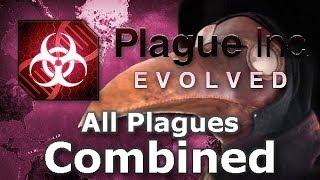 Plague Inc: Custom Scenarios - All Plagues Combined