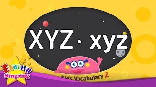 Kids vocabulary compilation ver.2 - Words starting with XYZ, xyz - Learn English for kids