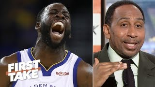 The Warriors should immediately offer Draymond a max extension – Stephen A. | First Take