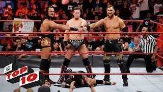 Top 10 Raw moments: WWE Top 10, September 25, 2017