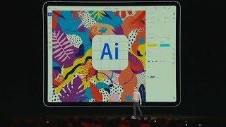 Adobe MAX 2019: Illustrator on iPad [Coming Soon]   Adobe Creative Cloud