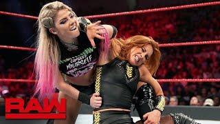 Becky Lynch vs. Alexa Bliss: Raw, July 29, 2019