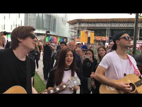 Roses (Acoustic) - Against the Current in Leicester Square