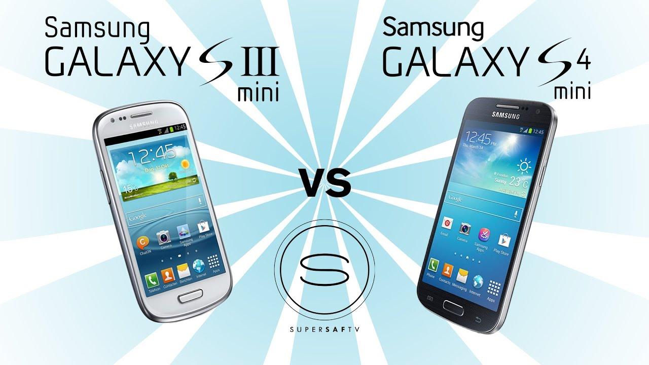 Samsung Galaxy S4 Mini vs Samsung Galaxy S3 Mini - YouTube  Samsung Galaxy ...
