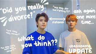 UPDATE on seungmin and minho as a divorced couple (a concept)