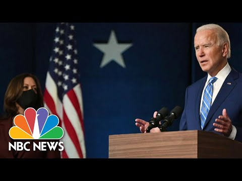 Biden Defeats Trump in Race for White House, NBC News Projects | NBC Nightly News