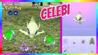 CELEBI CATCH and NEW SHINY CATCHES in Pokemon Go!