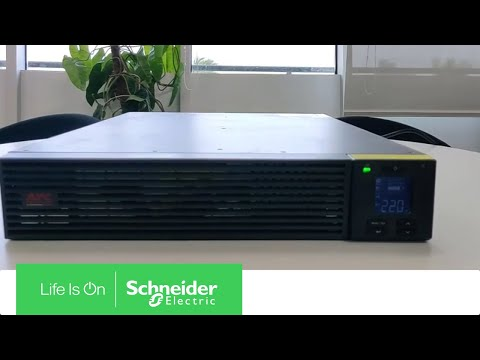 How to Turn Off SRV Model UPS Through Front Panel | Schneider Electric Support