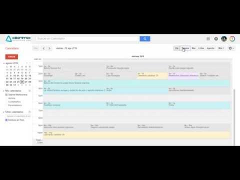 Cómo recibir una agenda diaria de su Google Calendar cada mañana