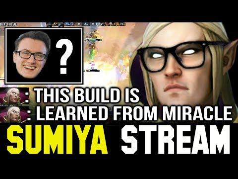 SUMIYA trying MIRACLE- Invoker Build   Sumiya Invoker Stream Moment #145