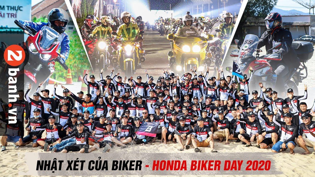 Honda Biker Day 2020 qua chia sẻ của những Biker tham gia