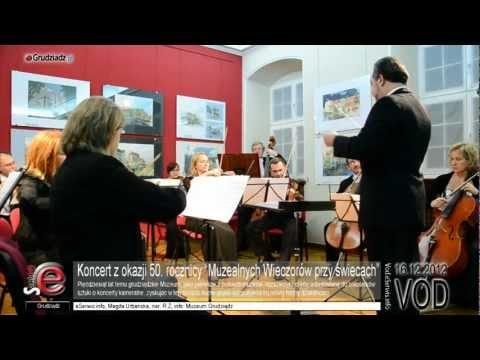 """Koncert z okazji 50. rocznicy """"Muzealnych Wieczorów przy świecach"""""""