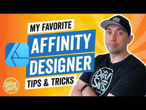 Affinity Designer Tips & Tricks for Beginners and Non-Designers. How to Use it for Print On Demand.