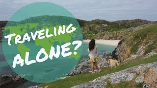 GIRL TRAVELING ALONE IN VAN | Don't I feel lonely?