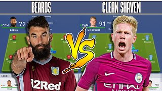 BEARDED PLAYERS VS CLEAN SHAVEN PLAYERS - FIFA 19 Experiment - EVIL GOATEE FORFEIT