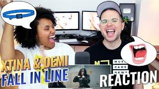 Christina Aguilera - Fall In Line (ft. Demi Lovato)   REACTION