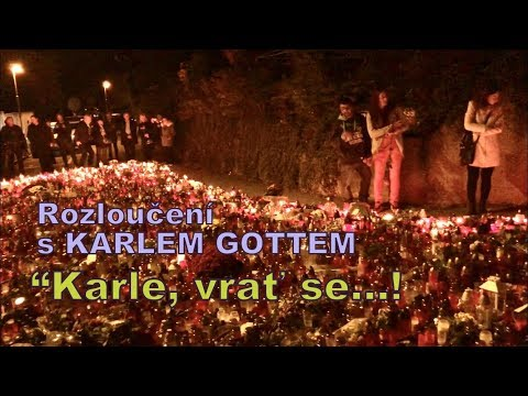 "Rozloučení s Karlem Gottem (""Karle, vrať se!"") 11. 10. 2019"