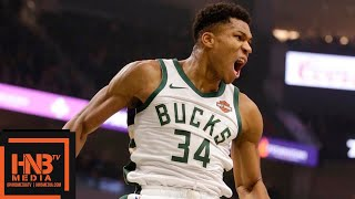 Milwaukee Bucks vs Portland Trail Blazers Full Game Highlights | 11.21.2018, NBA Season