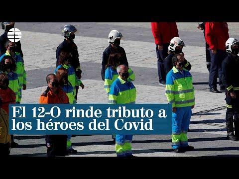 El 12-O rinde tributo a los héroes del Covid