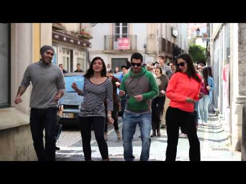 """Vê como a cidade de Leiria dança ao som de """"Happy"""" de Pharrell Williams"""