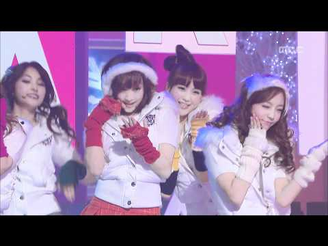 KARA - Pretty Girl, 카라 - 프리티 걸, Music Core 20081206