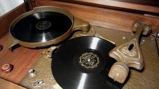 RCA Victor Record Changer 1931 Radiola Automatic Electrola RAE-26 Demonstration