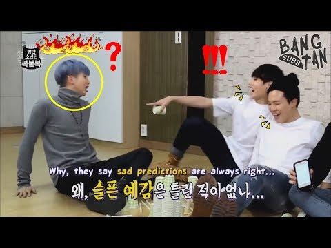 RM (김남준) make BTS (방탄소년단) laugh