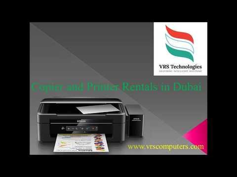 Rent Printer and Photocopier in Dubai | Lease Printer Dubai