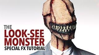 The Look-See Monster tutorial