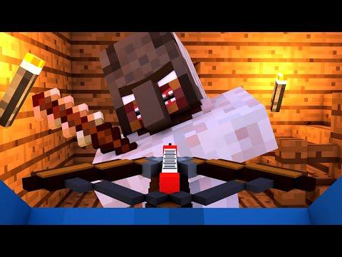 Granny vs Villager Life 4 - Granny Horror Game Minecraft Animation Alien Being