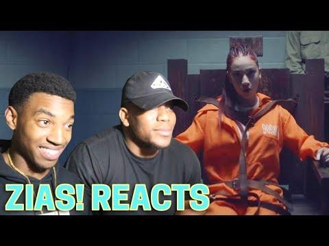 ZIAS! Reacts   BHAD BHABIE - Hi Bich / Whachu Know (w/B Lou )