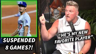 Pat McAfee Reacts To Joe Kelly Getting An 8 Game Suspension