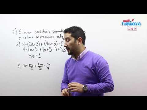 Prueba de algebra 3