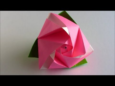 Origami Magic Rose Cube . How to Assemble and Use the ... - photo#28