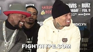 GERVONTA DAVIS BUSTS OUT LAUGHING AT HUGO RUIZ FOR KO THREAT; RUIZ WARNS HE'LL DEMONSTRATE HIS POWER