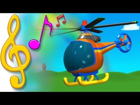 TuTiTu Songs- Helicopter Song - TuTiTuTV  - 87i1YSSoCtI -