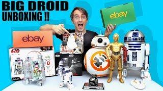 Star Wars Droid BIG Toy Unboxing, Sphero, LittleBits, BB-8, C-3PO, R2-D2 | James Bruton
