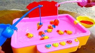 Đồ chơi câu cá trẻ em Fishing games for kids by Giai tri cho Be yeu