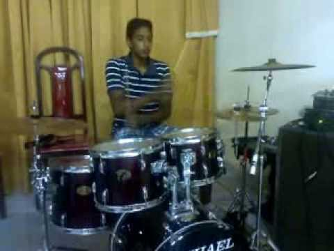 Bateria acústica Michael treino variações de ritmos Danilo Drummer