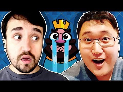 x1 LEON vs JEFF no Clash Royale!!