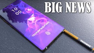 Galaxy Note 10 - BIG NEWS
