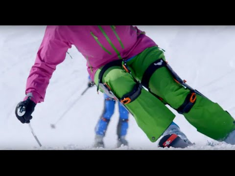 Againer knee braces for the best skiing performance