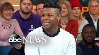 John Boyega reveals how he celebrated his 26th birthday