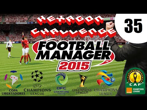 Pentagon/Hexagon Challenge - Ep. 35: AFC Champions League 3rd Round | Football Manager 2015