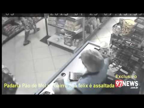ASSALTO A PADARIA PÃO DE MEL SÃO FELIX