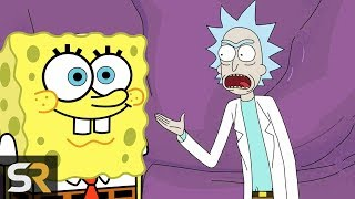 10 SpongeBob References You Missed in OTHER Animated Movies and TV Shows